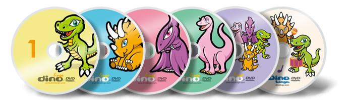 おすすめの子供向け英語学習DVD Dino Lingo